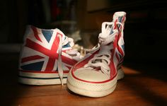 Union Jack Chucks #union #UK