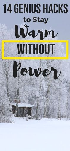 Self sufficiency. Be prepared for winter weather with these ideas to stay warm without power or electricity. Genius hacks for warm winter outfits, warm fall outfits, how to stay warm camping tips, stay warm at football games, and more. Bushcraft Camping, Camping Survival, Outdoor Survival, Survival Prepping, Survival Gear, Survival Skills, Camping Hacks, Survival Hacks, Emergency Preparedness