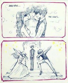 I can totally imagine this happening at MC and Saeyoung's wedding