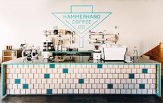 "acmeandco:  ""Espresso bar at @hammerhandcoffee in Liberty, MO 🙌🏼🌿  #acmecups #specialtycoffee #acmeforlife (at Hammerhand Coffee)  """