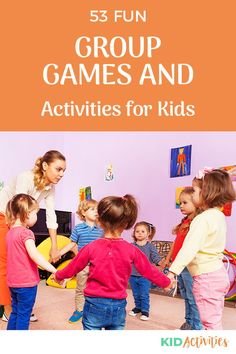 A collection of fun group games and activities for kids. Great for family events, church events, and school. Anywhere there's a group of kids. #KidActivities #KidGames #ActivitiesForKids #FunForKids #IdeasForKids Outdoor Games For Kids, Indoor Activities For Kids, Fun Activities For Kids, Classroom Activities, Preschool Family, Preschool Games, Group Games For Kids, Games For Toddlers, Summer Party Games