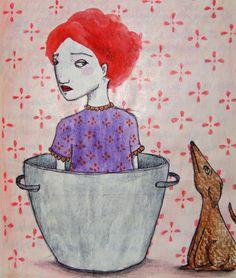 """""""Ein Hund kam in die Küche..."""". Raffaela Schöbitz"""