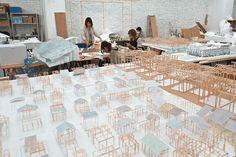Housing for elderly by Junya Ishigami