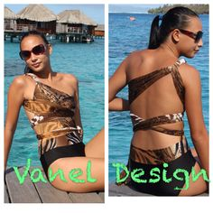 Hot New One Piece convertible infinity swimsuit Designer custom swimwear bathing suit Bikini sexy women on Etsy, $52.00