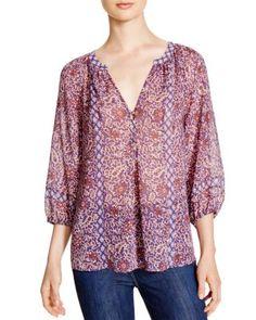 Joie Gloria B Paisley Print Silk Blouse - 100% Bloomingdale's Exclusive | Bloomingdale's