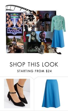 """Movie Nights to Remember: Cinema Paradiso"" by cocodobard ❤ liked on Polyvore featuring New Look, Marni, vintage and country"