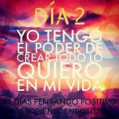 Hoy es un buen día para tener un Gran día #21dia #piensoenpositivo #buenaactitud #buenavibra #retopiensopositivo #miercoles #mitaddesemana #felizdia #like4like