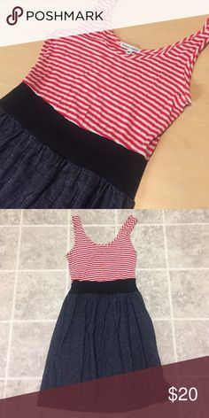 NEW WITHOUT TAGS Nautical Dress with Pockets New. No trades or lowballing, please! Velvet Torch Dresses Mini