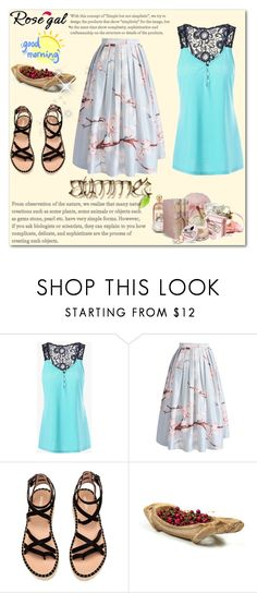 """rosegal"" by maja9888 ❤ liked on Polyvore featuring Chicwish and Puji"