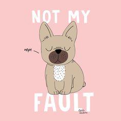 Not my Fault // Odile Sacoche, le Book Portfolio : Illustration Bulldog