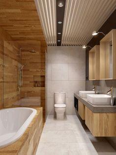 Bathroom Decor Toilet the Bathroom Remodel Ideas next Best Bathroom Design Software Free at Design Ideas For A Small Bathroom Remodel; Small Bathroom Design On A Budget Best Bathroom Designs, Modern Bathroom Design, Bathroom Interior Design, Wooden Bathroom, Small Bathroom, Master Bathroom, Bathroom Vanities, Brown Bathroom, Washroom