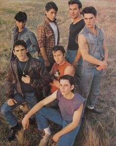 The Outsiders 1983, Dallas Winston, Emilio Estevez, Nostalgia, Ralph Macchio, Matt Dillon, Rob Lowe, Good Old Times, Patrick Swayze