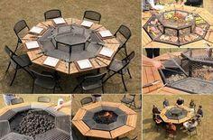 Stół grillowy