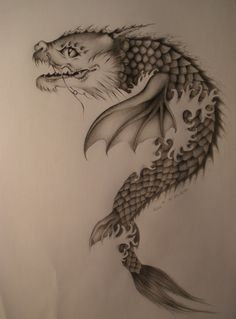 fantasy koi dragon | dragon,fish koi by ~koso21 on deviantART