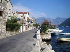 by Siniša Vlaisavljević on Flickr.  The small coastal town of Sutomore in Montenegro.
