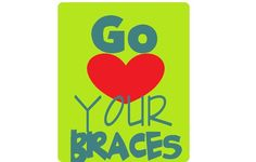 Love your Braces and represent your Orthodontist well !!!!  We love our patients at Sherman, Sherman and Briscoe Orthodontics !!!!!