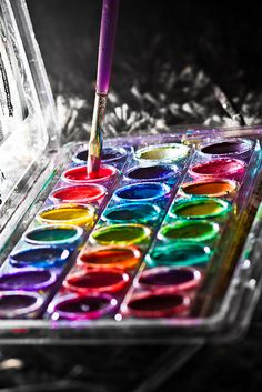 Painting . . . not for some great masterpiece, but just for the fun of playing with the colors!!