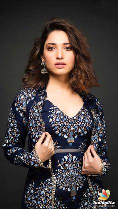 Tollywood Actress Indraja Stills In Blue Saree - Tollywood Stars Beautiful Bollywood Actress, Most Beautiful Indian Actress, Beautiful Actresses, Bollywood Heroine, Men's Fashion, Fashion Week, Fashion Outfits, Indian Celebrities, Bollywood Celebrities