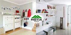 #flatsinZirakpurChandigarh: Big #Ideas for a Small Space with Motia Group. The hall is often the most overlooked space when decorating your #home