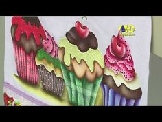 Vida com Arte | Barrado Cup Cake por Eliana Rolim - 27 de Fevereiro de 2015 - YouTube