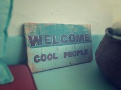 Welcome cool people!