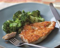Ingredients 2 ounces parmesan cheese 4 boneless, skinless chicken breasts (about 5 ounces each) 1 tablespoon Dijon mustard ½ teaspoon freshly ground black pepper Cooking spray Directions Coarsely grate the parmesan cheese. (It should yield about ½ cup.) Put the chicken between two sheets of plastic wrap and pound it out to an even thickness …