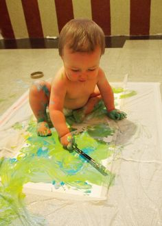 Baby E Painting