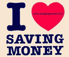 If you love saving money $$ retweet, this!! #ILoveSavingMoney #Love #Money #Cash #Saving #Coupons #Discounts #Online #DiscountShopping #OnlineShopping #ShoppingOnline #Retweet #HalfOff #Deals #BigDeals #BigSavings #Shop #Shopping #PiggyBank #SwagBagEvents Love You, My Love, Discount Shopping, Piggy Bank, Saving Money, Coupons, Swag, Events, Te Amo