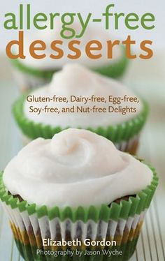 Vegan Gluten, Dairy, Soy, Nut and Egg-free Funfetti Birthday Cupcake by My Allergy-Free Life GF/WF/SF/NF/CF/Bean-free/legume-free/vinegar-free/oat-free/banana-free/ (Contains 2 cups of white sugar and 3/4 cup applesauce.) This would work for a party. I'd need to test the recipe and see if I couldn't omit all the white sugar and sub flaxseed for 1/3 cup oil.