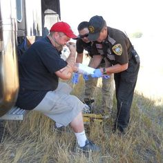 This a picture of my brother in action! He is a police officer in my hometown in Montana. Police officers and other first responders inspire me with their bravery. They are the ones who run toward the fire/gun shots/fights/accidents while everyone else runs away. —Amy G. #OneBraveThing
