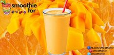 Two beneficial fruits come together. One side is mango which controls the cholesterol level in blood and the other side is freshly squeezed orange juice. Tricky part in the mango orange smoothie recipe is the ice-cream. With mint leaves and clove, the taste has gone fresh and aromatized.