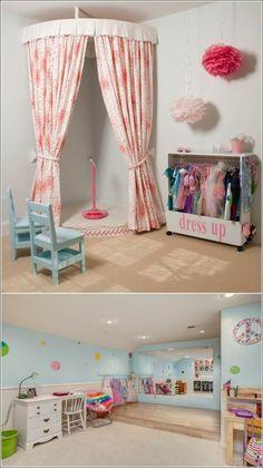 125 großartige Ideen zur Kinderzimmergestaltung - tolle dekoideen für kinderzimmer platz zum singen stühle schreibtisch