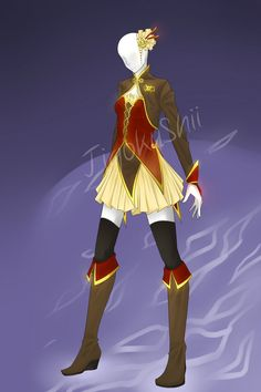 Levia's Boutique- Asian Pirate Outfit adopt closed by JigokuShii