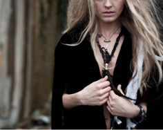 Voodoo Child Necklace by TaxilHoax on Etsy, $46.00