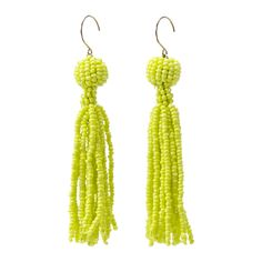 Seed Bead Tassel Earrings - Kate Spade Saturday