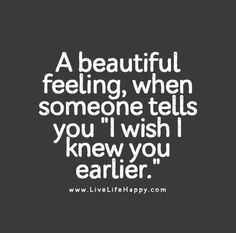 A Beautiful Feeling