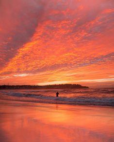 Before Sunrise, Wake Me Up, Vibrant, Ocean, Celestial, Sunset, Beach, Outdoor, Color
