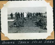Bodies taken from barn (Gardelegen, Germany)