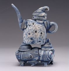 National Teapot Exhibition and Sale Teapots-A-Go-Go 2006 at MudFire Gallery - Lana Wilson