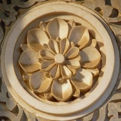 Floral pattern on a marble Hindu Temple in Jaipur, India Indian Temple Architecture, India Architecture, Architecture Details, Indian Colours, Wood Carving Designs, Amazing India, India Culture, Jaipur India, Indian Patterns