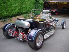 English built V12 Jaguar T Bucket (1) | Flickr - Photo Sharing!