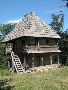 Case Vechi – 2020 World Travel Populler Travel Country Cabin Plans, House Plans, Decks, Viking House, Rural House, Medieval Houses, Bamboo House, Bucharest Romania, Traditional House