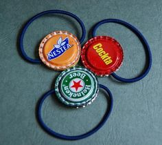 recycled ponytail holders