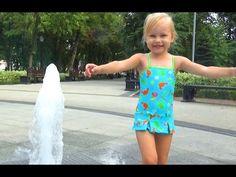 Гуляем с Алисой Фонтаны и детская площадка в Сквере Дружбы Children's Pl...