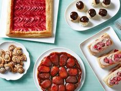 Puff Pastry Treats Turn store-bought dough into brunch, apps and desserts. <-- Raspberry Chocolate Cream NapoleonsTurn store-bought dough into brunch, apps and desserts. Puff Pastry Desserts, Puff Pastry Recipes, Pastry Dishes, Food Network Recipes, Cooking Recipes, Cooking Food, Bread Recipes, Just Desserts, Dessert Recipes