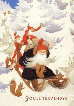 "Rudolf Koivu Finland ""Christmas Greetings"""