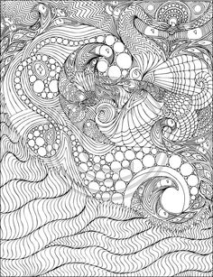 A Coloring Book For Big Kids Free Adult Pages