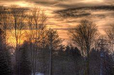 one more Sunset in Waterloo , Ontario Waterloo Ontario, Sunrise, Earth, Explore, World, Wanderlust, Travel, Outdoor, Spring