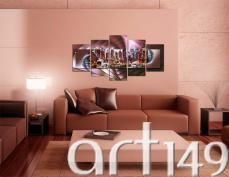 Salon z obrazem Nowy Jork zyska wielkomiejski szyk. Zapraszamy do galerii Art149!