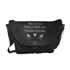 Nurses Bring Comfort Messenger Bag